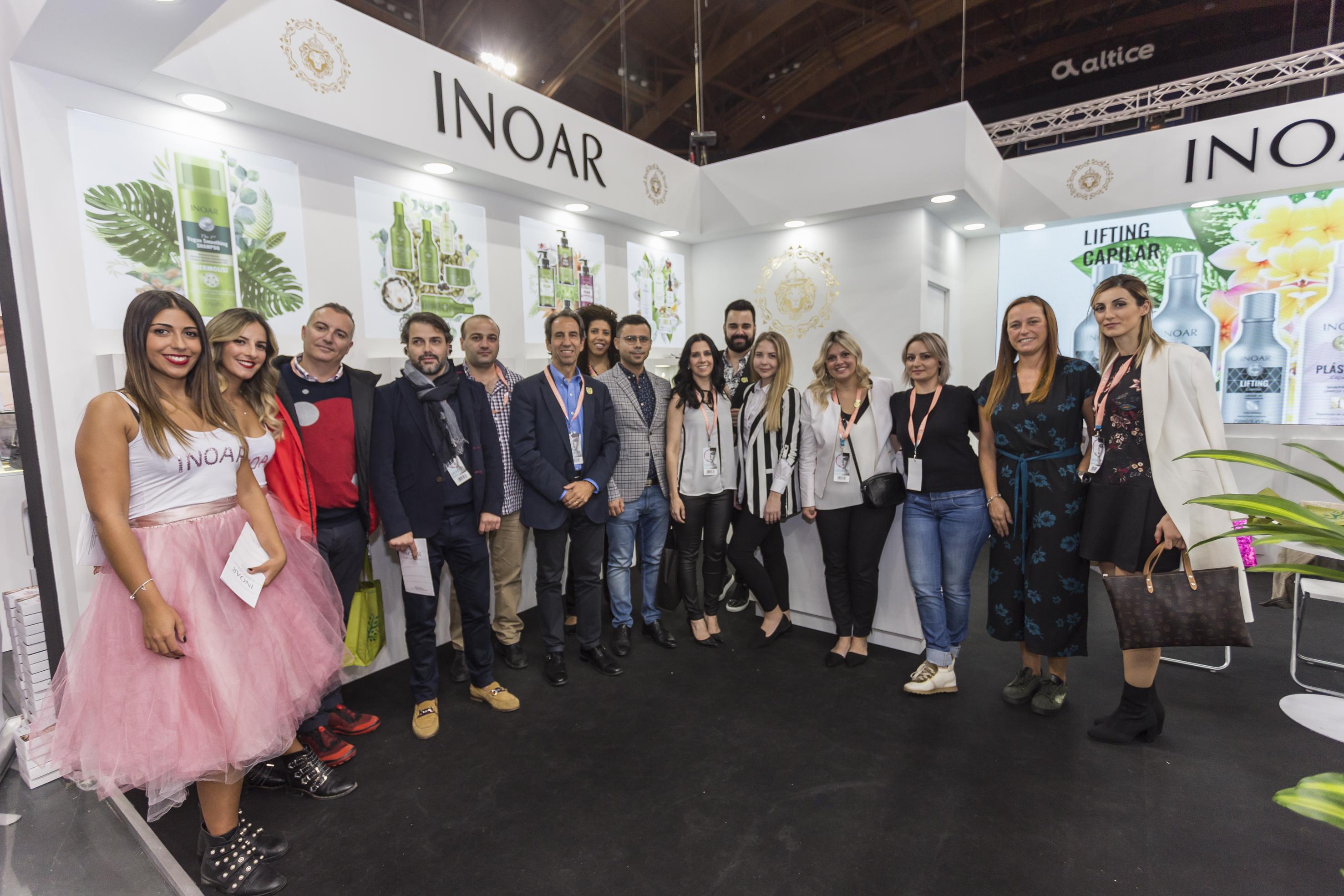 e7dff0b9bb200 Inoar apresenta linhas veganas e alisamento com ácido Glioxílico para  Comitivas da África e Europa durante In Beauty Portugal